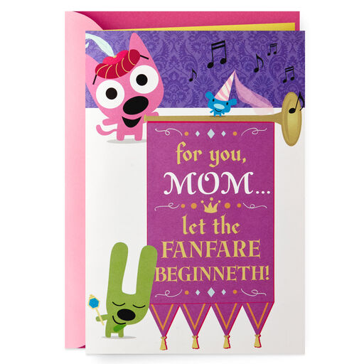HoopsyoyoTM Mothers Day Sound Card With