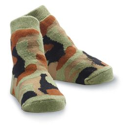 Mud Pie® Camo Print Baby Socks, , large