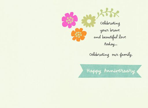 Celebrating Your Love Anniversary Card,