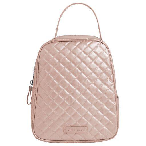 6212415cd Vera Bradley Iconic Lunch Bunch Bag in Rose Quartz, ...