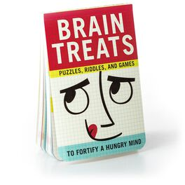Brain Treats: Puzzles, Riddles and Games To Fortify a Hungry Mind Gift Book, , large