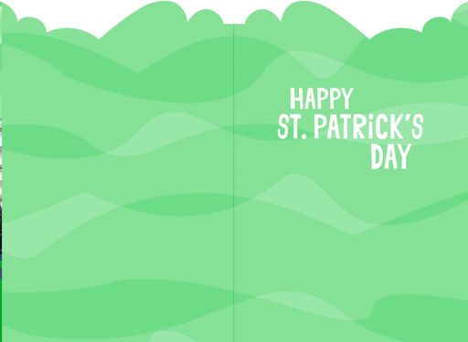 Herring Go Bragh Funny St. Patrick's Day Card,