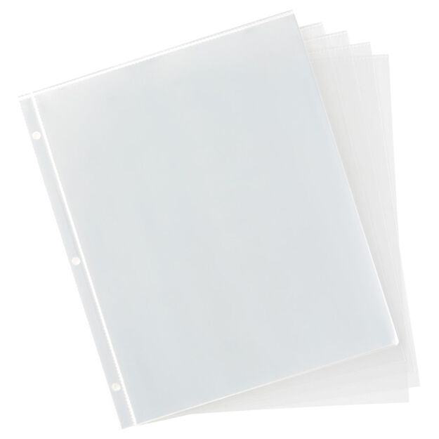 large 3 ring recipe organizer album refill pages recipe