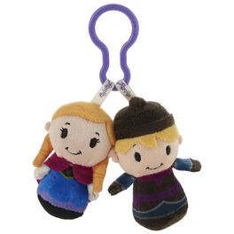 Disney Frozen Anna and Kristoff itty bittys® Clippys  Stuffed Animals, , large