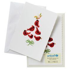An aid organization for children, UNICEF today remains committed to improving the living conditions of young people in over countries. As part of their fundraising efforts, UNICEF Switzerland produces annual greeting cards for the December and New Year holiday season.