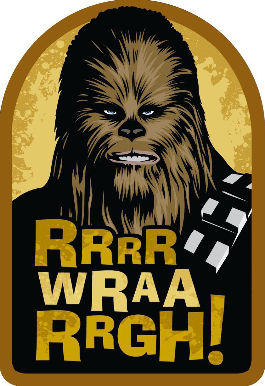 Star Wars Chewbacca Wookiee Wishes Birthday Card Greeting – Chewbacca Birthday Card