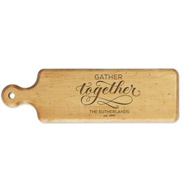 Gather Together Personalized Bread Board, , large