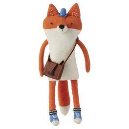 Fleece Fox Premium Stuffed Animal, , large