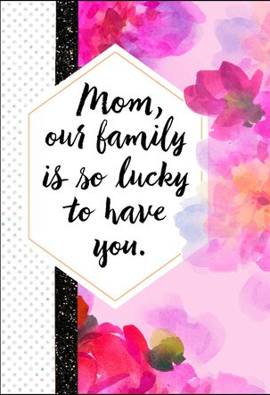 We Can Always Count on You Mother's Day Card