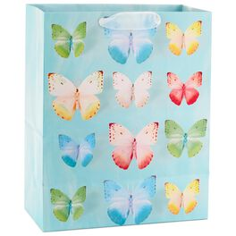"Colorful Butterflies Large Gift Bag, 13"", , large"