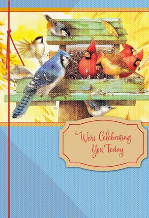 We're Celebrating You Marjolein Bastin Birthday Card From Both