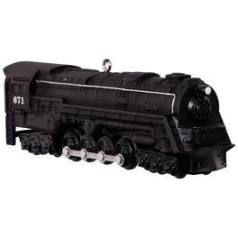 LIONEL® Trains 671 S-2 Turbine Steam Locomotive Ornament, , large
