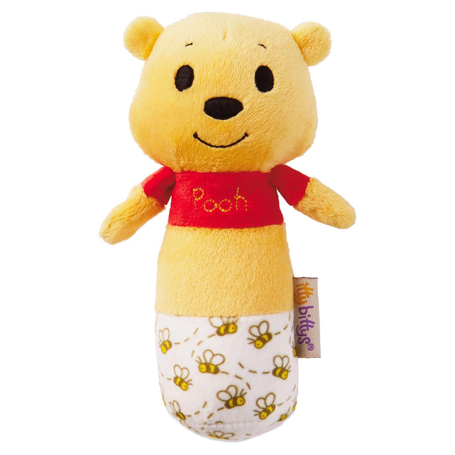 3e1090446df6 itty bittys® Winnie the Pooh Baby Rattle - Baby Essentials - Hallmark