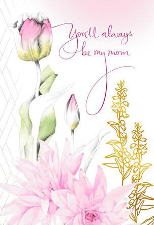 Marjolein Bastin Pink Tulips Mother's Day Card