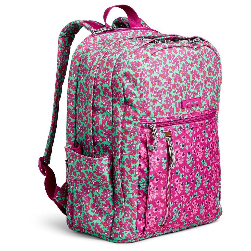 163430fbf095 Vera Bradley Lighten Up Grand Backpack in Ditsy Dot - Handbags ...