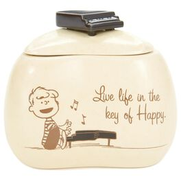 "Peanuts® Schroeder Piano Treasure Box, 4"", , large"