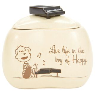 """Peanuts® Schroeder Piano Treasure Box, 4"""","""