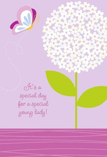 For a Special Young Lady Religious Confirmation Card,