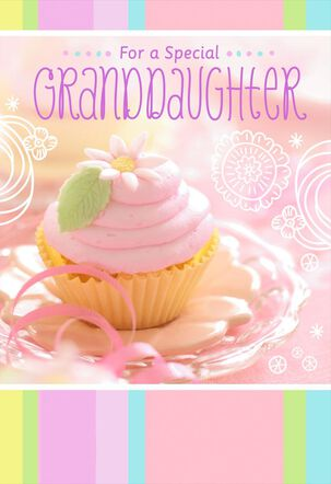 Celebrates You Birthday Card for Granddaughter