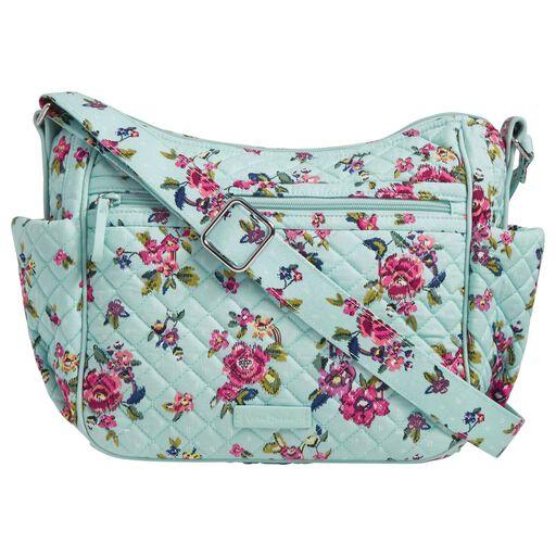 a0200e0ec8 Vera Bradley Iconic On-the-Go Crossbody Bag in Water Bouquet