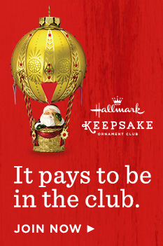 It pays to be in the club—Keepsake Ornament Club. Join now
