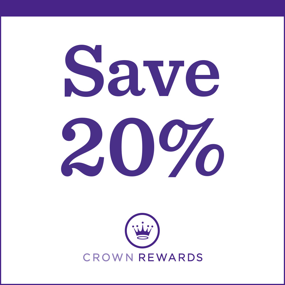 Save 20% on your total purchase