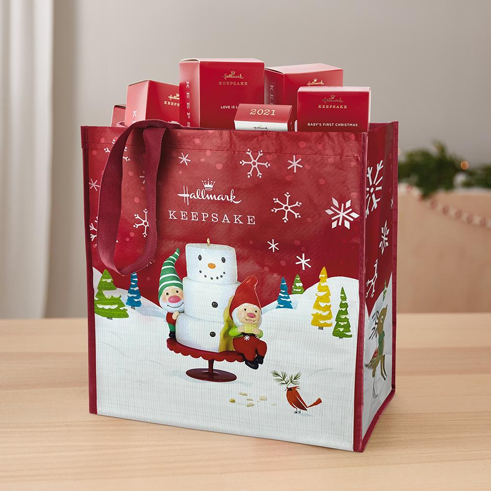 Gnome for Christmas Reusable Tote Bag
