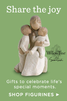 Hallmark figurines help celebrate your special moments