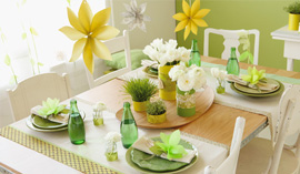 These pretty party crafts will dress up any spring gathering including graduations, baby showers and Mother's Day.
