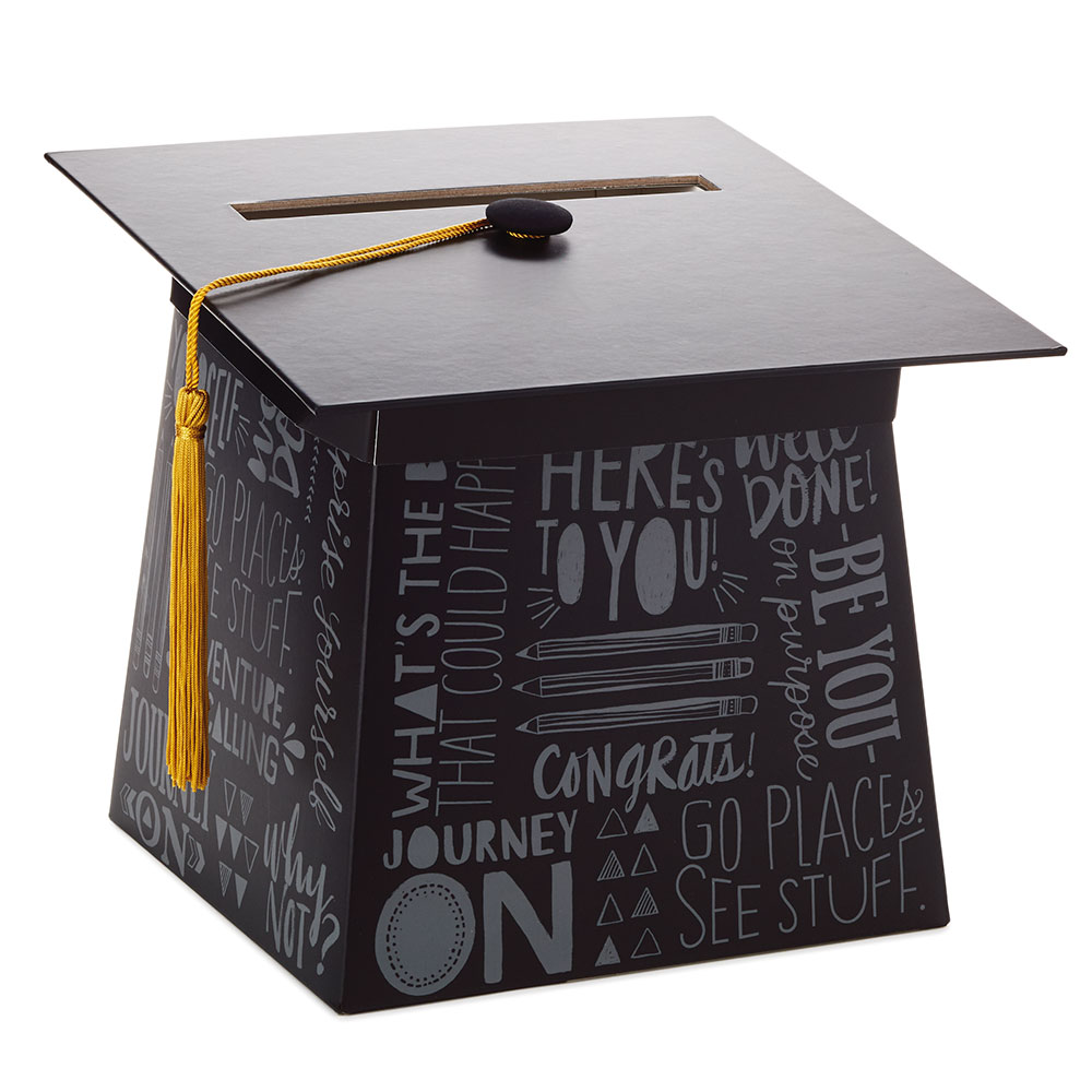Graduation Cap Card Box