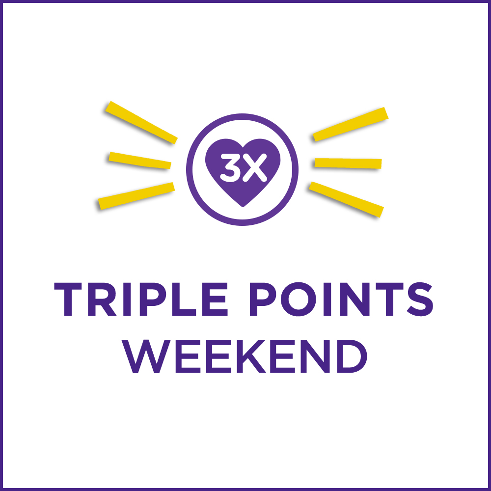 Triple points weekend