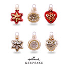 Hallmark Keepsakes Miniature Decorative Ornament Set