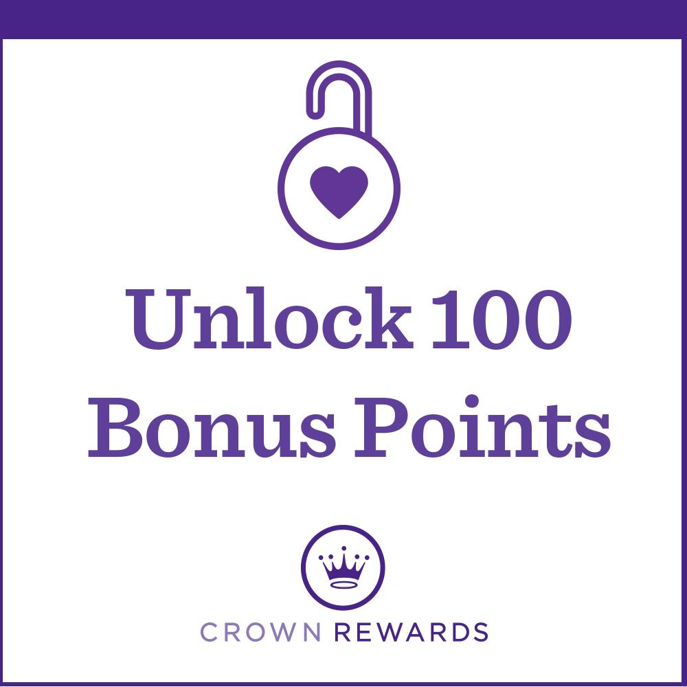 Unlock 100 Bonus Points
