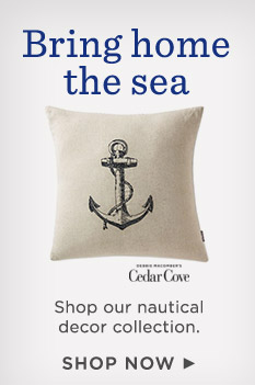 Shop our new nautical decor collection.