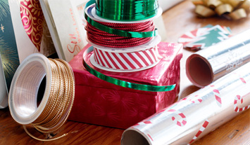 Gift wrap tips and tricks from Hallmark.