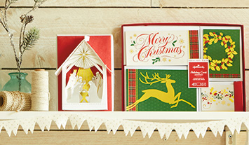 Our holiday boxed cards feature a huge variety of styles and designs