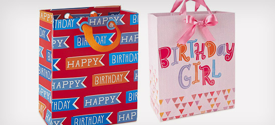 BOGO 50% off Bright and Modern and Kid Life gift wrap collections