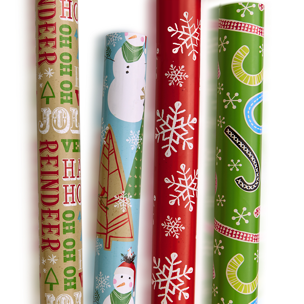 Hallmark Quad Pack of gift wrap