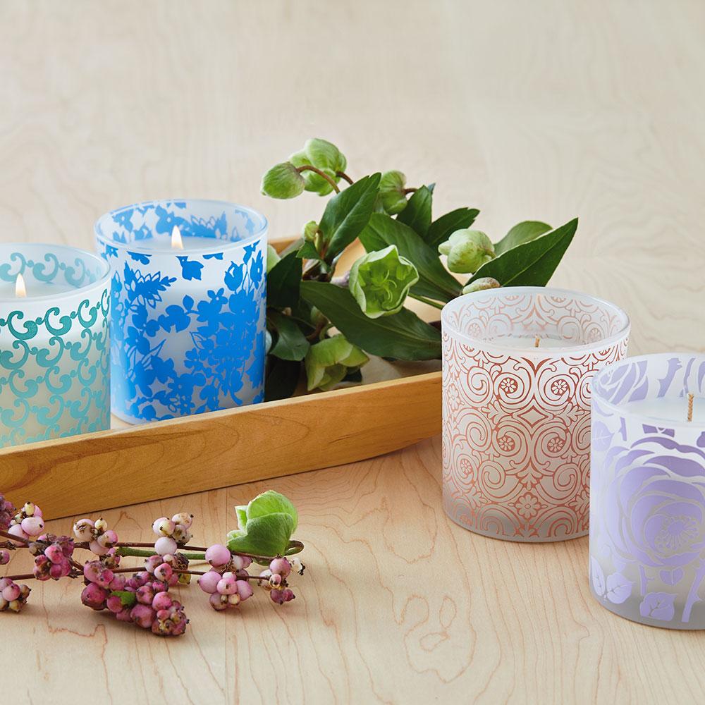 Spring Scented Jar Candles