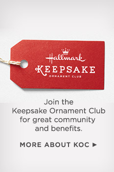 Join the Keepsake Ornament Club for great community and benefits.