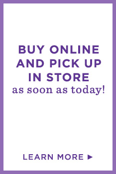 Same-day store pickup. Buy online and pick up in store as soon as today, for FREE!