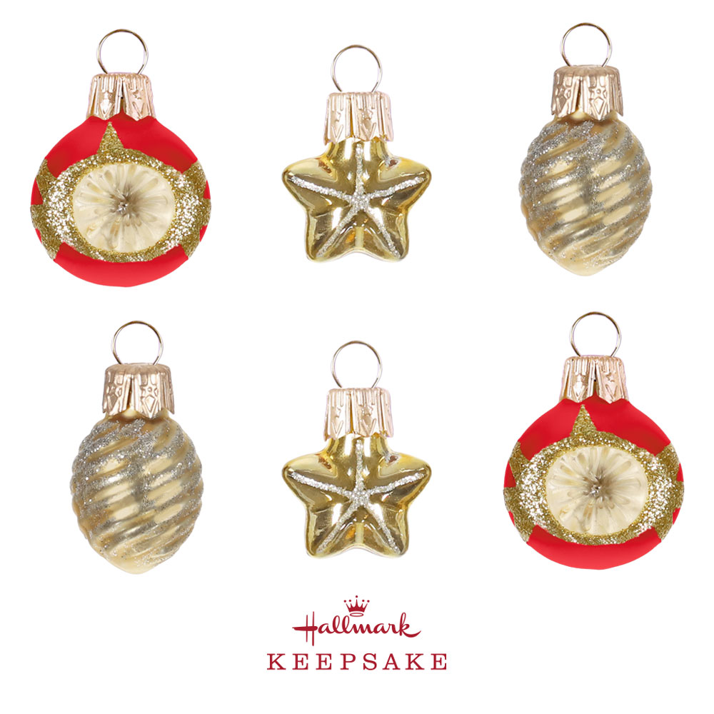 Miniature Keepsake Ornament Set
