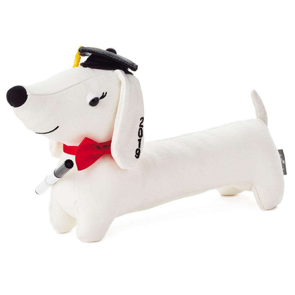 Graduation Autograph Pup Stuffed Animal