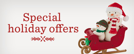 Special Holiday offers