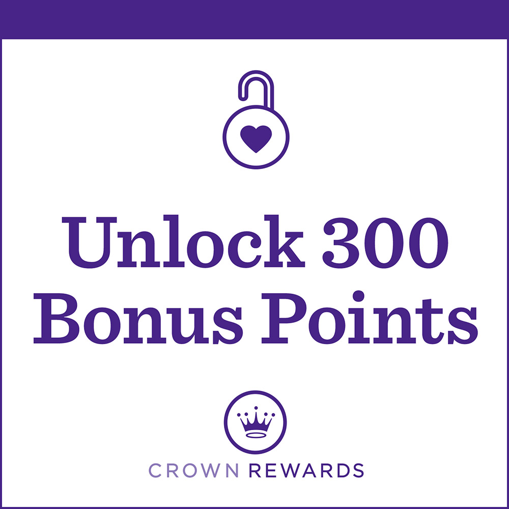 Unlock 300 Bonus Points when you buy 3 or more Hallmark Gift Wrap products.