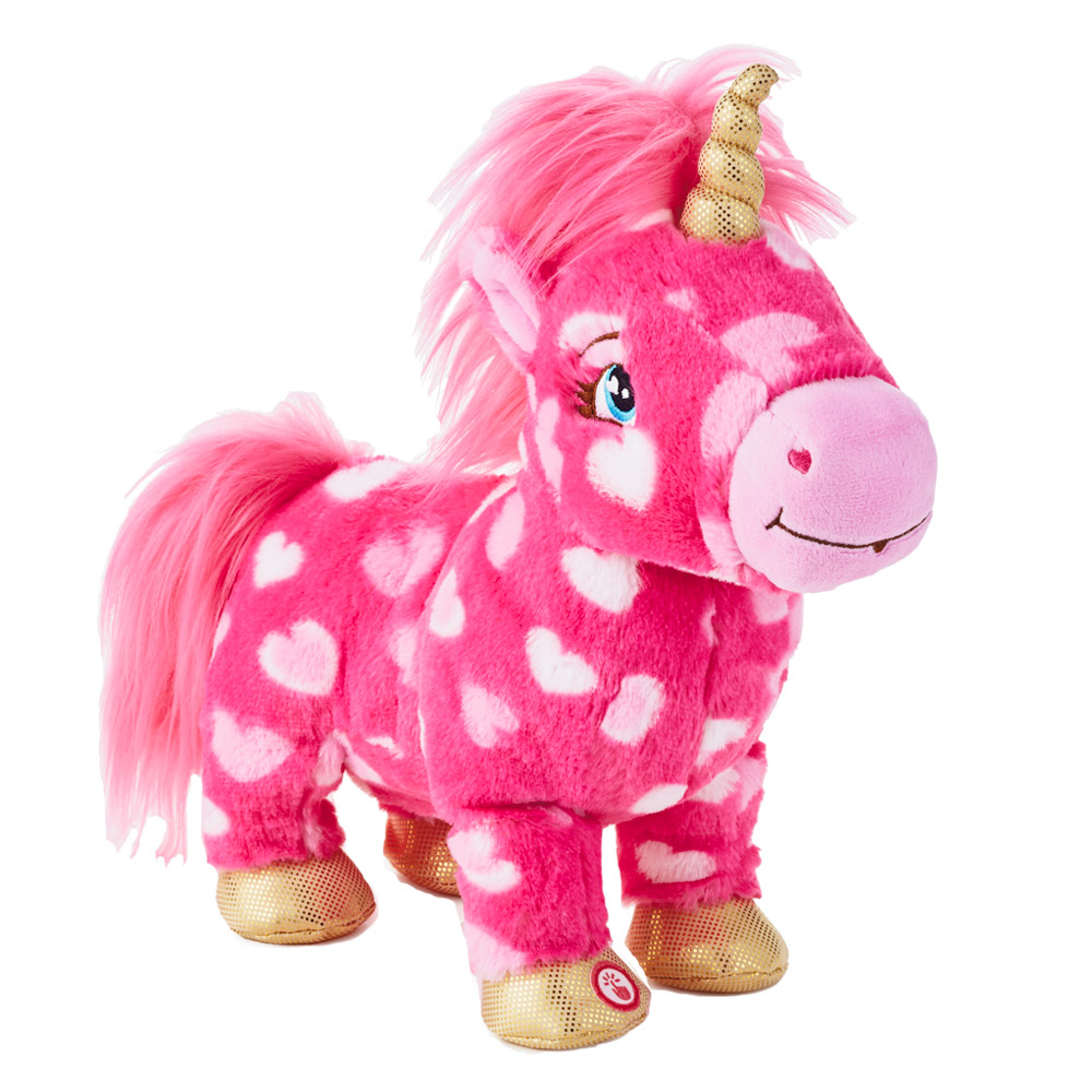 Love is Magic Unicorn Interactive Stuffed Animal