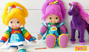 Rainbow Brite™ and Stormy dolls