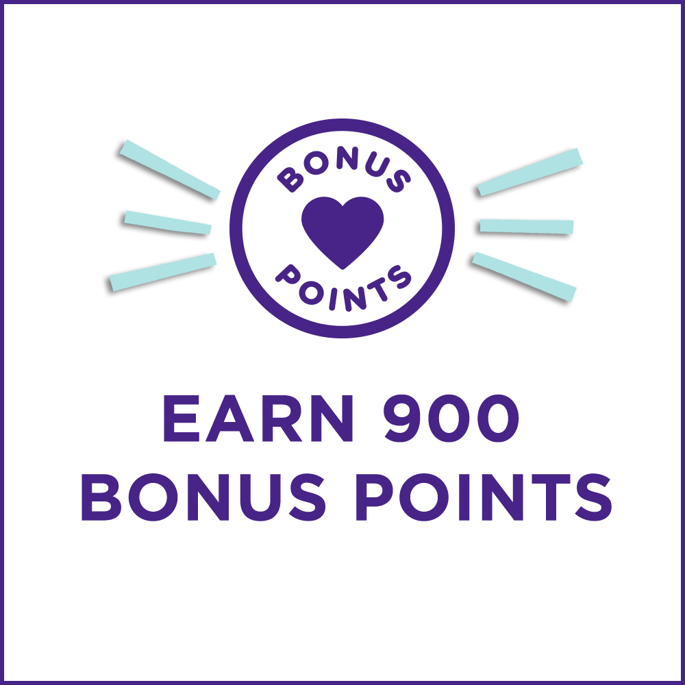 Earn 900 Bonus Points when signing up for text messages