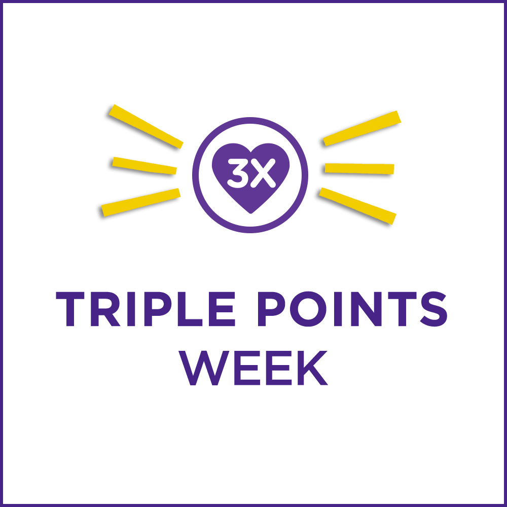 Triple points week