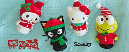 Save on all $6.95 itty bittys®, like holiday Hello Kitty®, Chococat®, My Melody® and Keroppi®.